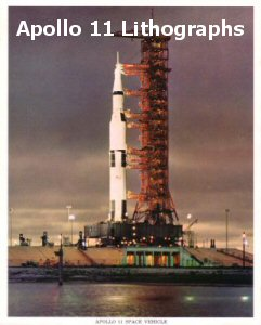 Welcome To The Apollo 11 Lithograph Gallery