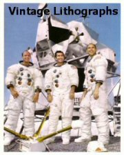 Click Here To Go To The Apollo 12 Lithograph Gallery