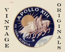 Click here to go to the Vintage Apollo 13 Gallery