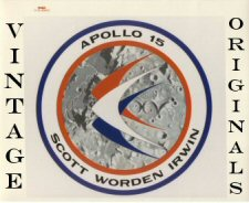 Click here to go to the Vintage Apollo 15 Photograph Gallery