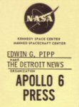 Click here to go to the Apollo 6 Gallery