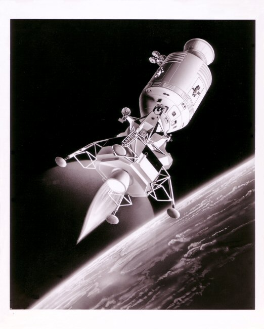 Apollo 9 Art by Russell Arasmith