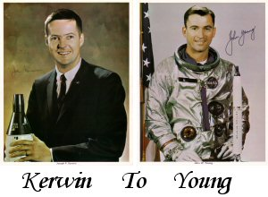 Click here For Astronauts Last Names Starting With K to Z