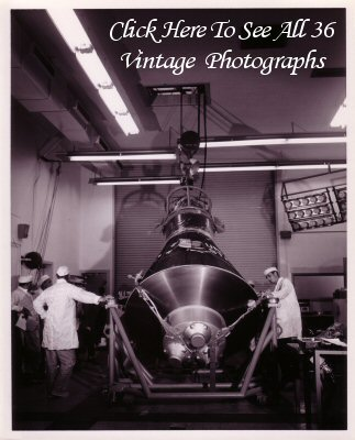 Click Here To See All 36 Spacecraft #2 Vintage Glossy Photographs