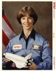 Click Here To Go To The  Female Shuttle Photograph Portrait Gallery
