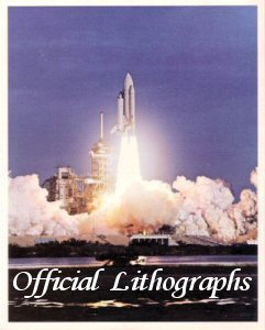 Click here to Go to the Shuttle Lithograph Gallery