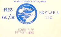 Click here to go to the SKYLAB 3 Gallery