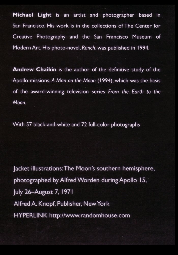 Scan of the back cover over leaf