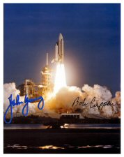 Click Here To Go To The STS-1 Pre-Printed Signature Photo Gallery