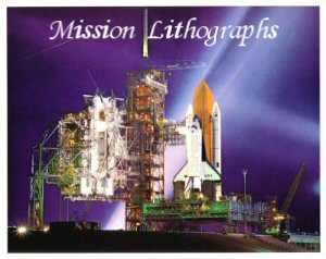 Click here to Go to the Shuttle Mission Liathograph Gallery